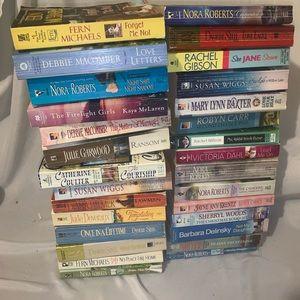 Other - Lot of 37 romance novels Nora Roberts etc